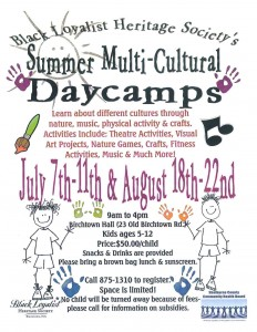 Day Camps July & August 2014 revised