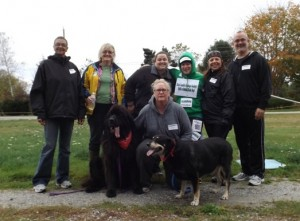 walk a thon pArticipants Oct 25 2014