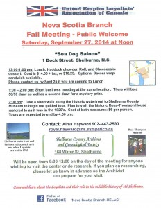 UELAC Shelburne Meeting
